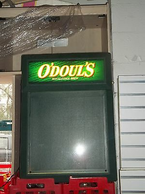 """O'Doul's"" Lighted Menu Board/Beer Sign"