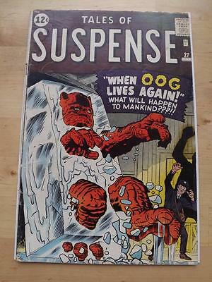 Tales Of Suspense #27 G/vg 3.0 Big Scans Combined Postage