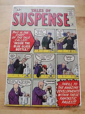 Tales Of Suspense #34 Vg-  Big Scans Combined Postage