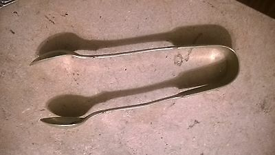 Silver Plated Sugar Tongs 5 Inches Long