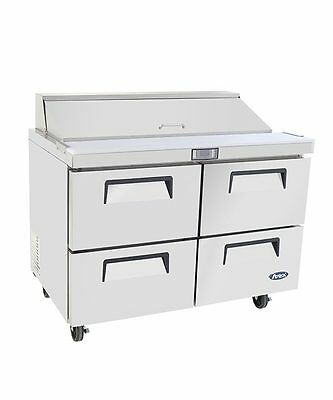 ATOSA MSF8313 60″ Two-Drawer Sandwich Prep Table