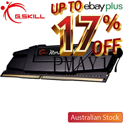 G.Skill Ripjaws V 16GB 3200MHz DDR4 Desktop Memory (1x16GB) + Free Mouse