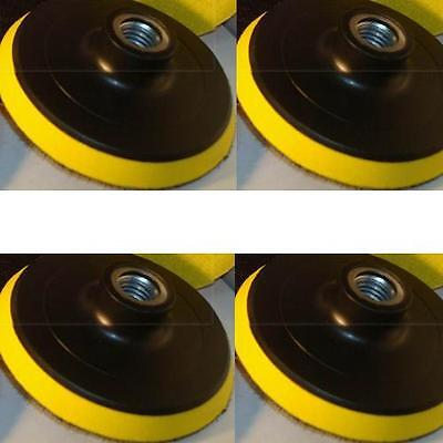 """14 Pieces 4"""" Back Holder/Backer Pads for Diamond Polishing Pads 5/8""""-11 Thread"""