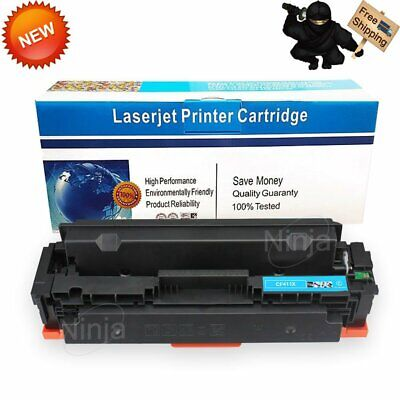 1PK CF411X Cyan Compatible Toner Cartridge For HP M452 M477 MFP M377 USA SELLER!