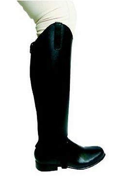 Black Leather Gators, Showcraft By National Equestrian,  Small Size