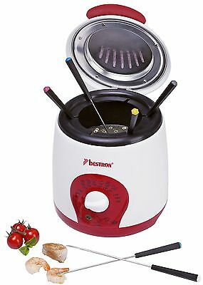 Bestron ADF900 deep fryer - deep fryers (Single, Red, White, Rotary, (l8O)