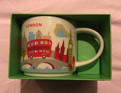 Starbucks YAH You Are Here London Mug NEW RARE Item. Dispatches USA!