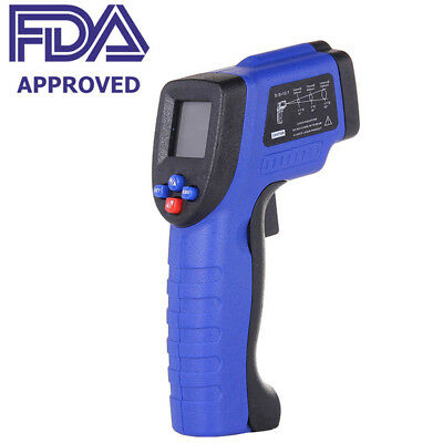 Digital Non-Contact Temperature Gun Infrared IR Laser Thermometer FDA Approved