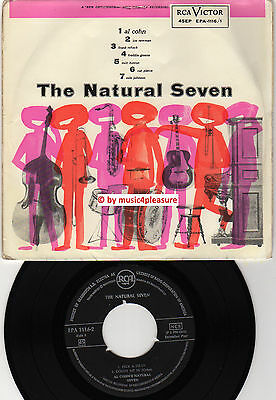 ♫ EP 1956 Al Cohn NATURAL SEVEN RCA EPA 1116-1 Electra GERMANY FOR NORWAY VG++ ♫