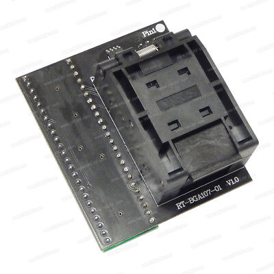 ORIGINAL RT809H EMMC-Nand FLASH Programmer + 28 ADAPTERS WITH CABELS EMMC-Nand