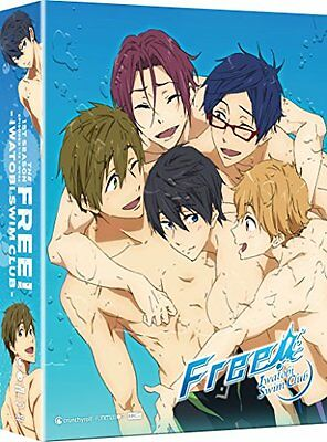 NEW Free: Iwatobi Swim Club: Season One (Limited Edition Blu-ray/DVD Combo)