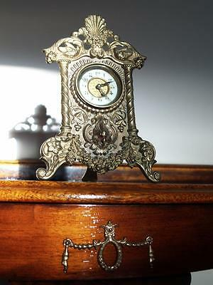 19 Century Small English Mantel Clock Excl. Working Cond.