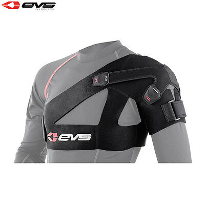 EVS SB03 Motorcycle Bike Shoulder Support Adjustable Stabilizer Adult - Black