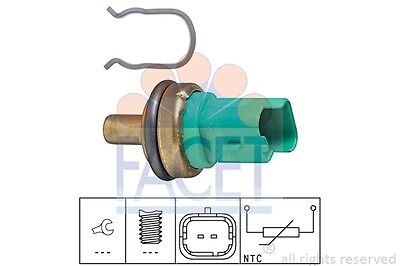 Facet Coolant Temperature Sensor 7.3292 Fits CITROEN C8 2