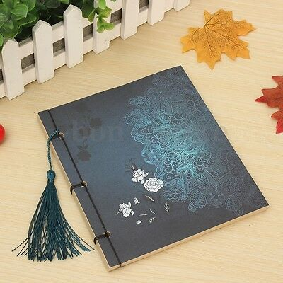 Retro Notebook Stationery Thread-bound Diary Notepad Journal Book Sketch Blank
