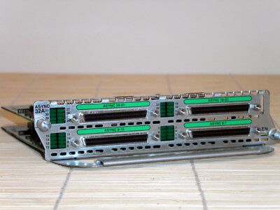 Cisco NM-32A Asynchronous 32-Port Network Module