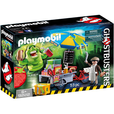 PLAYMOBIL Ghostbusters Slimer with Hot Dog Stand - Ghost busters 9222