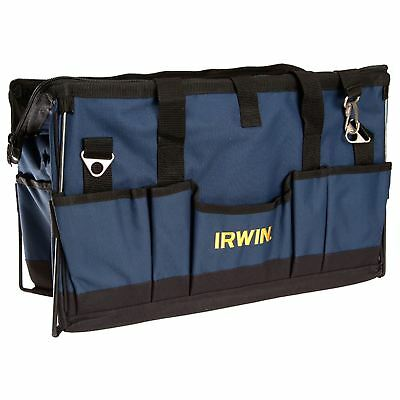 Irwin 600mm Soft Side Tool Storage Bag Organiser With Pockets Reinforced