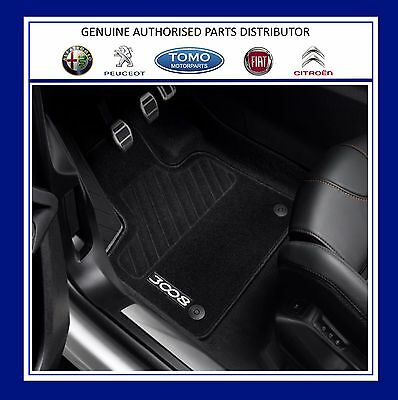 New Genuine Peugeot 3008 SUV 2017 Onwards Set Of Front & Rear Carpet Mats