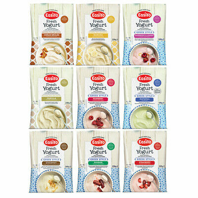 EasiYo Top Sellers Pack - 9 Delicious Flavours