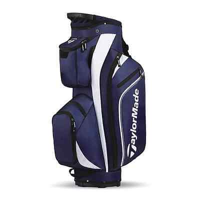2017 Taylormade Pro Cart 4.0 Trolley Bag 14-Way Divider Blue/White/Black NEW