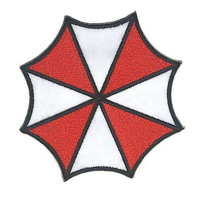 New Resident Evil Umbrella Corporation Logo Embroidered Ironon Patch Shirt Po487