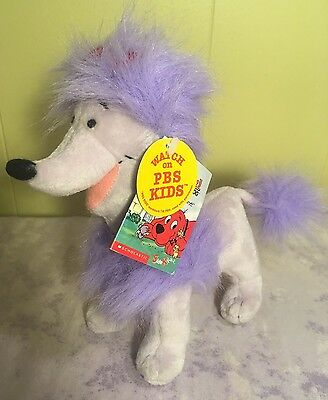 "Scholastic Cleo Plush Clifford The Big Red Dog 8"" NWT PBS Side Kicks Mini New!"