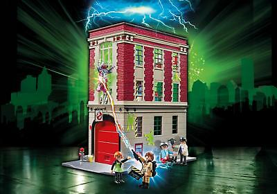 PLAYMOBIL GHOSTBUSTERS #9219 GHOSTBUSTERS Fire house - New Sealed IN STOCK