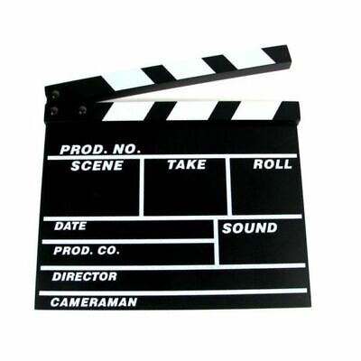 Director Video Scene Clapperboard TV Movie Clapper Board Film Slate Cut Prop UK