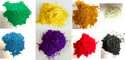 Metallic Colour Pigments for Epoxy Resin: 8 beautiful colours [50g each]