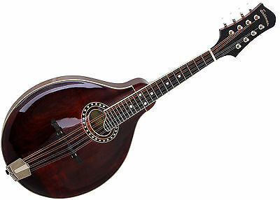 Eastman Mandoline MD504 Classic A-Style Gebraucht, Used inkl. Koffer