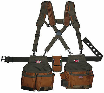 "Bucketboss Airlift Builders Rig 12 Pockets fits waists up to 52"" 50100"