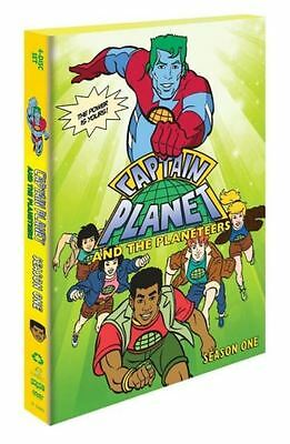 Captain Planet And The Planeteers: Animated Series Complete Season 1 Box/DVD Set