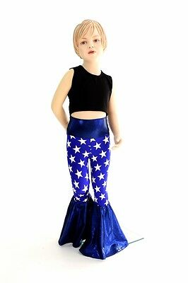 Kids 2T Patriotic 4th of July America 70's Bell Bottom Flare Pants Ready to Ship