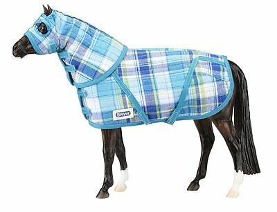 Quilted Blanket and Hood Set for Traditional Horses