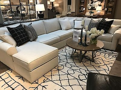 Custom Ethan Allen Sectional Sofa  great for seating a lot of people