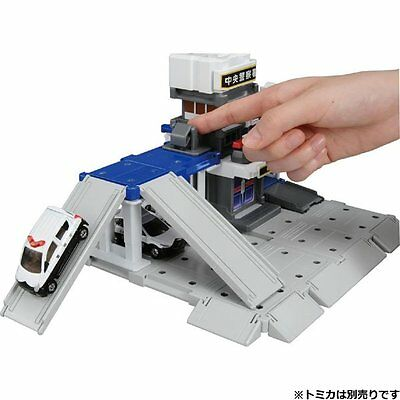 Takara Tomy Tomica Town Build City Police Station Playset  (NOT INCLUDE DIECAST)