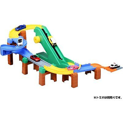 Takara Tomy Tomica World System Loop Road Set Playset Toy (NOT INCLUDE DIECAST)