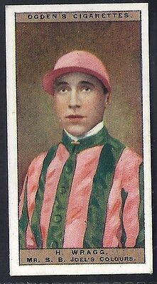 Ogdens-Jockeys & Owners Colours Horse Racing-#50- Wragg