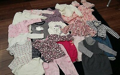 Baby Girl 12-18 mths Bundle 24 items Bridesmaid Next Baby Gap River Island M&S