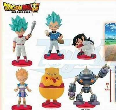 Banpresto Dragon Ball Super World Collectable Figure Vol 8 WCF Set of 6
