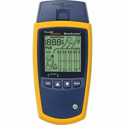 NEW Fluke Networks Ms2-100 Microscanner2 Cable