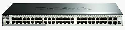 52-PORT GIGABIT SMARTPRO SWITCH STACKABLE 2 SFP 2 10G SFP+ [Noir]  NEUF