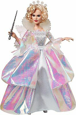 Disney Cinderella Fairy Godmother Doll Mattel Mint in Box