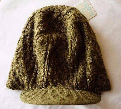 Toshi Boy Girl Winter Reversible Hat Cap Beanie - Size Large NEW