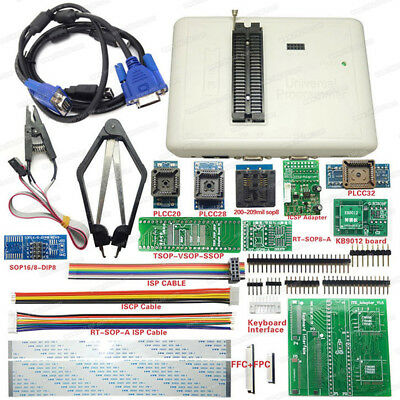 NEW RT809H EMMC-NAND FLASH Programmer + 12 ADAPTERS WITH CABELS EMMC-Nand RT809