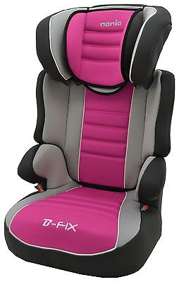 TT Befix SP Agora Framboise Group 2-3 High Back Booster Seat