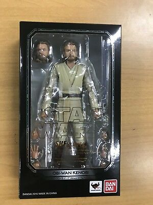 S.H.Figuarts Star Wars Obi-Wan Kenobi Attack Of The Clones Figure Bandai