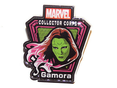 Marvel Collector Corps Souvenir Pin Badge Gamora Guardians Of The Galaxy Mint