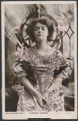 Adrienne Augarde (2) - 1882-1913 - actress in London and New York